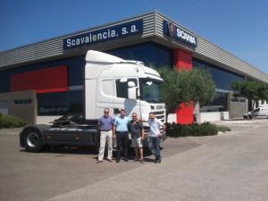 Giorgi se une a Alicotrans y se le hace entrega del Scania G440.