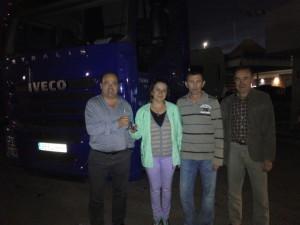 En noviembre hemos entregado un Iveco 500 con Intarder a Marius y Mihaela Florescu.
