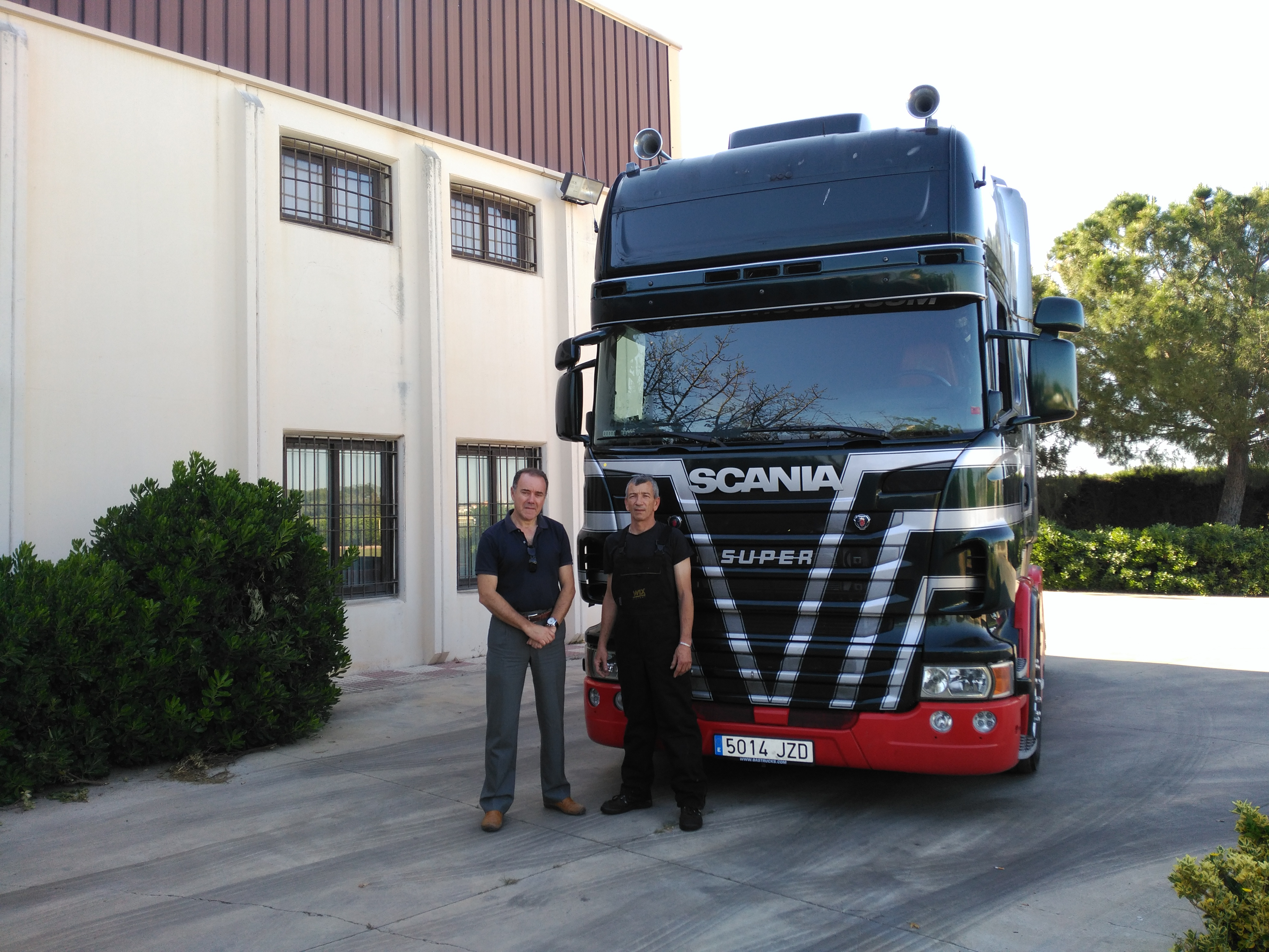 Foto Scania R480 Frontal