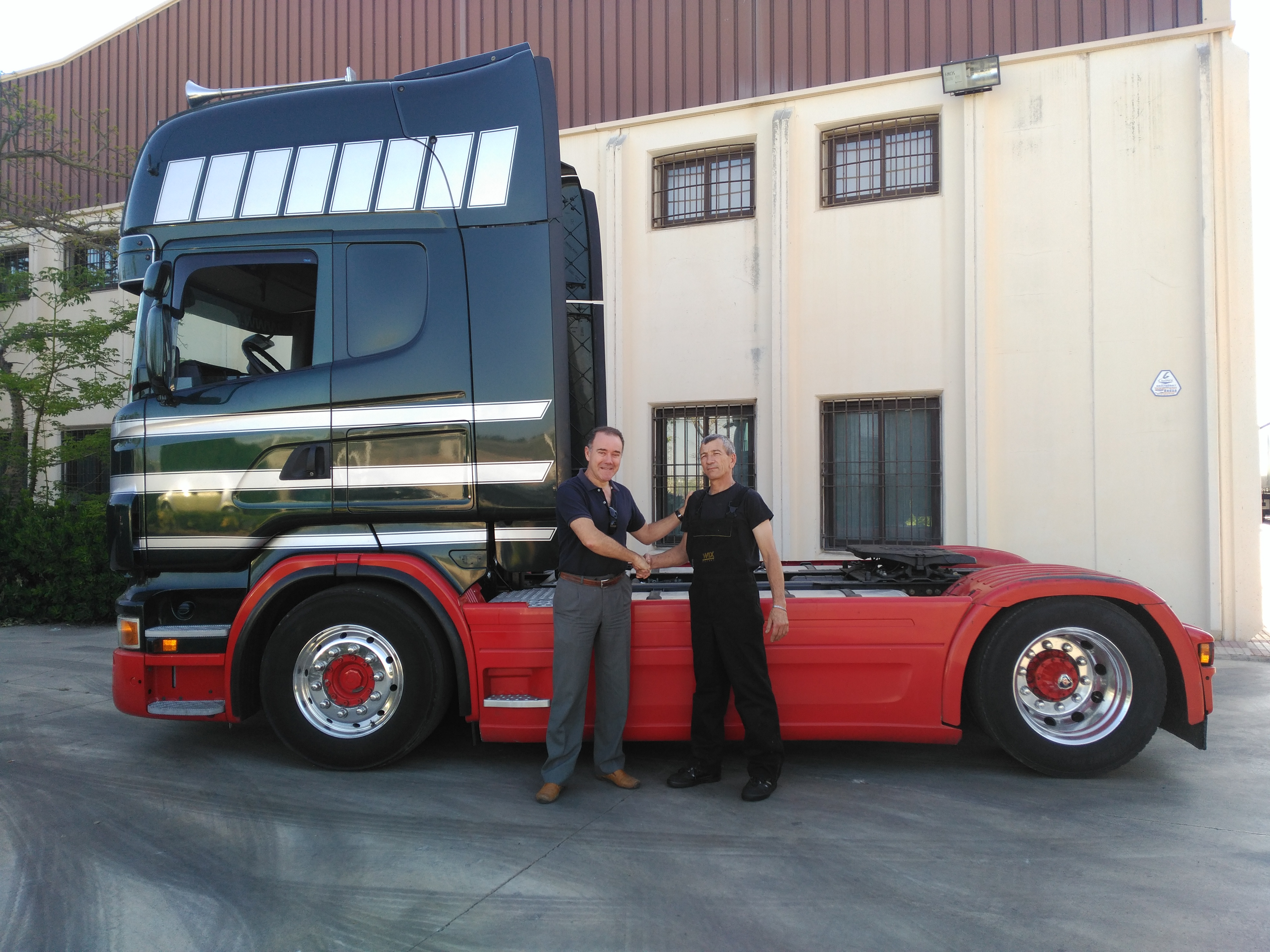 Foto Scania R480 Lateral